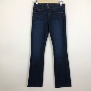Joes jeans relaxed straight leg dark jeans size 27